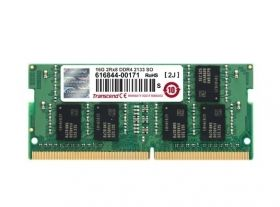Памет Transcend 16GB 260pin SO-DIMM DDR4 2133 2Rx8 1Gx8 CL15 1.2V