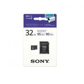 Памет Sony 32GB Micro SD, Super High Speed, class 10 UHS-I, 95MB/sec read, 90MB/sec write