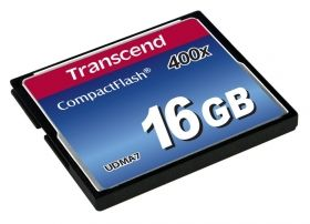 Памет Transcend 16GB CF Card (400X)