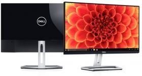 "Монитор Dell S2218M, 21.5"" Wide LED, IPS Anti-Glare, Ultrathin, FullHD 1920x1080, 6ms, 1000:1, 8000000:1 DCR, 250 cd/m2, VGA, DVI, Black&Silver"