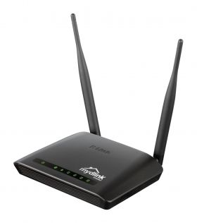 Рутер D-Link Wireless N 300 Cloud Router with 4 Port 10/100 Switch